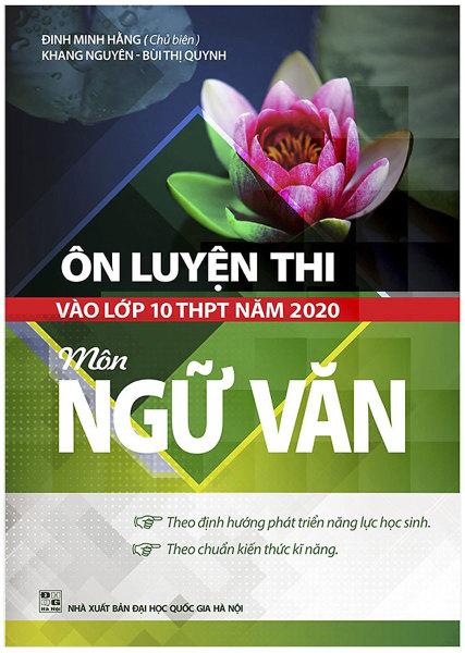 Mua ÔN LUYỆN THI VÀO LỚP 10 THPT NĂM 2020 MÔN NGỮ VĂN