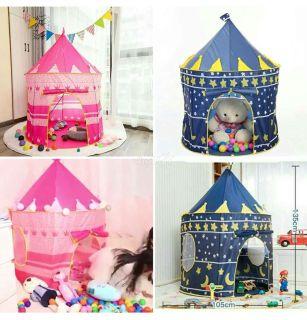 Lều công chúa hoàng tử đồ chơi chất liệu cao cấp thiết kế đẹp mắt, đáng yêu cho bé, lều cho bé, lều công chúa Others, lều cho bé giá rẻ thumbnail