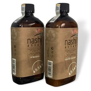 [Chính hãng] Cặp dầu gội xả siêu mượt Nashi Argan Classic Shampoo and Conditioner 500mlx2 thumbnail