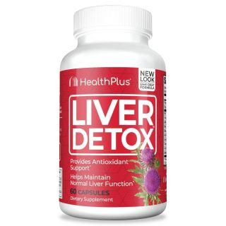 Liver Detox Thải Độc Gan, 490mg Cây Khế Sữa, 60mg Triết xuất lá Atisô và 50mg Củ Nghệ, Công thức giải độc mát gan tự nhiên, Bảo vệ tế bào gan và duy trì chức năng sức khoẻ cho Gan - Thúc đẩy bài tiết mật (60 Viên nang) thumbnail