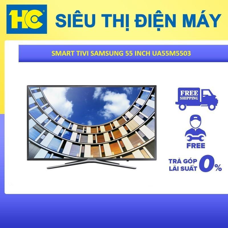 Bảng giá Smart Tivi Samsung 55 inch Full HD UA55M5503AKXXV - Bảo hành 2 năm - Miễn phí vận chuyển & lắp đặt - hỗ trợ trả góp