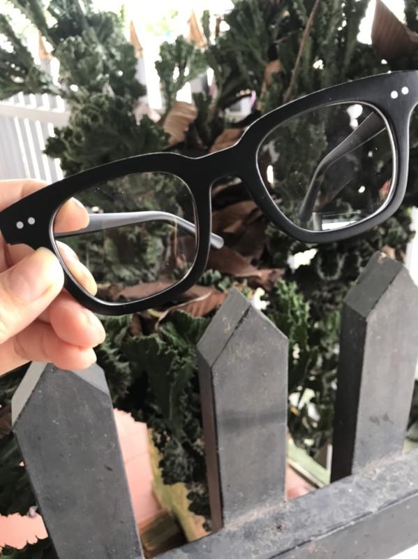 Giá bán Mắt kính gọng vuông đen hottrend  Kính mát phong cách Hàn Quốc