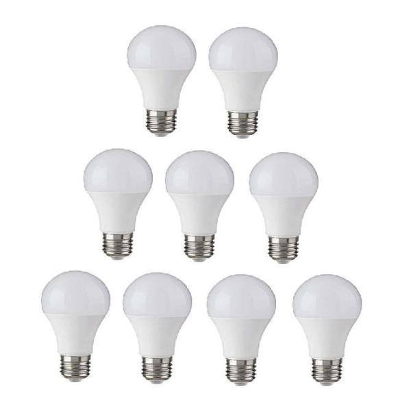 Bộ 9 bóng đèn LED BULB Trụ 12W Siêu sáng - A60