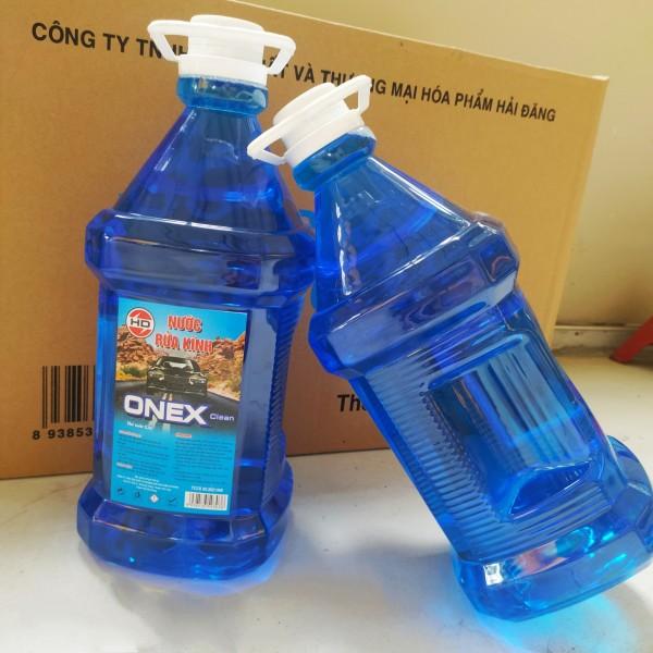 [MIỄN PHÍ SHIP] Nước rửa kính Ôtô ONEX CLEAN  Chuyên Dụng Can 2.5lít- Nước rửa kính ô tô – Phukienso133