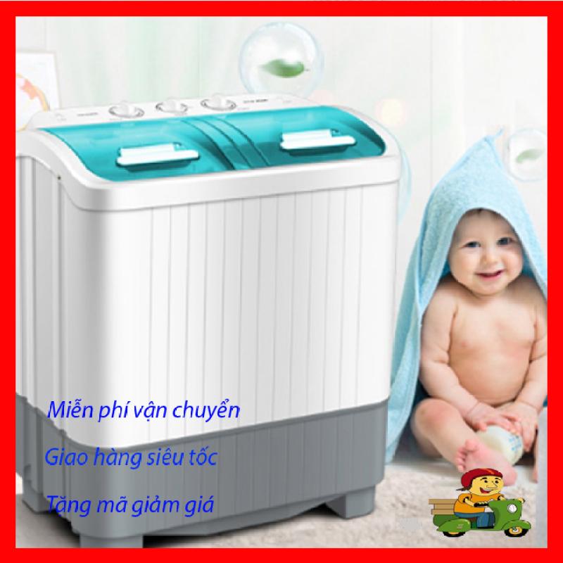 Bảng giá Giấy giặt mini 2 lồng cao cấp, tiện ích 5.6 kg đồ, công suất 380w, Chuyên dùng giặt quần áo em bé, quần áo lót, Máy giặt có đủ các chế độ ngâm, xả, vắt Điện máy Pico