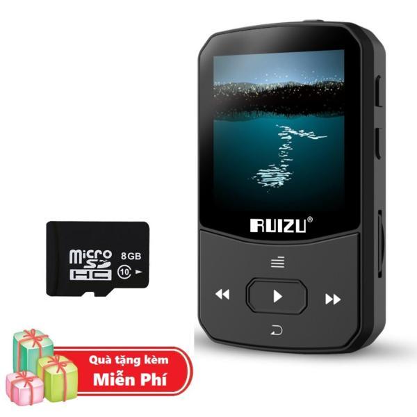 ( Quà tặng Thẻ nhớ Micro SD 8G ) Máy Nghe Nhạc MP3 Bluetooth Ruizu X52 Bộ Nhớ Trong 8GB Cao Cấp - Máy nghe nhạc Lossless Bluetooth Ruizu X52