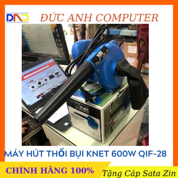 Máy hút và thổi bụi Knet QIF-28 (Màu Xanh) công suất mạnh mẻ 600w chính hãng
