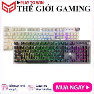 Bàn Phím Cơ Gaming Full-sized Có Dây LangTu G900 LED RGB, Có nút xoay chỉnh âm lượng - Hãng phân phối chính thức thumbnail