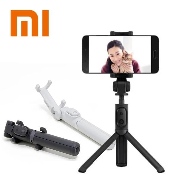【FREESHIP XTRA】[QUỐC TẾ] Gậy Selfie Xiaomi Gậy Selfie Để Bàn Gậy Selfie Cho iPhone Gậy Chụp Hình Tripod + Nút Remote Bluetooth - Kẹp Điện Thoại Chân Đế Có Thể Mở Rộng 3 Chân CHÍNH HÃNG XIAOMI - Mistore Việt Nam