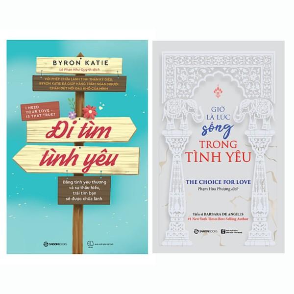 Bộ: Đi tìm tình yêu - Giờ là lúc sống trong tình yêu (Bộ 2 cuốn)