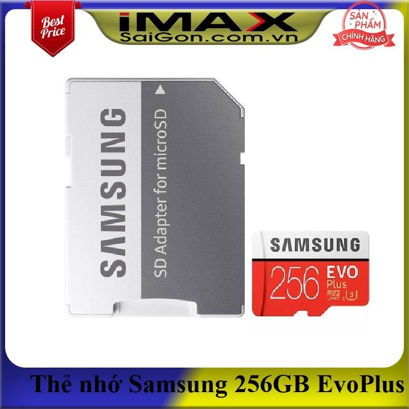 Thẻ nhớ Samsung Micro SDXC EVO Plus 256GB (Model 2020)