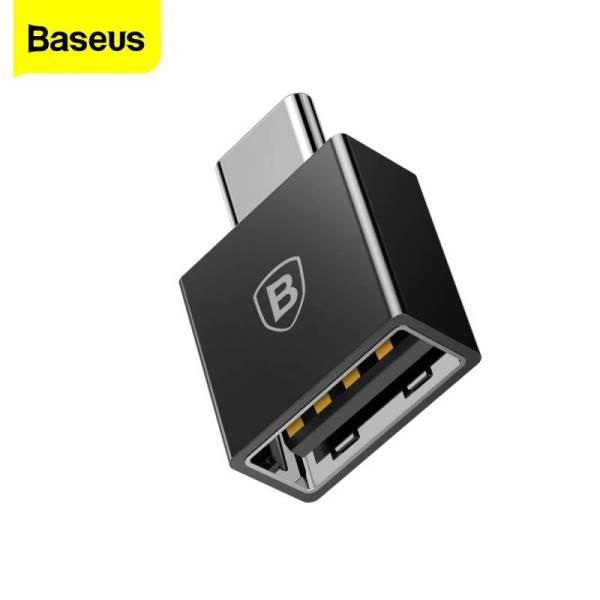 Bộ chuyển đổi Baseus USB Type C OTG dành cho Xiaomi mi 9 Samsung S10 Note 10 Huawei Mate 30 P30 Pro - INTL