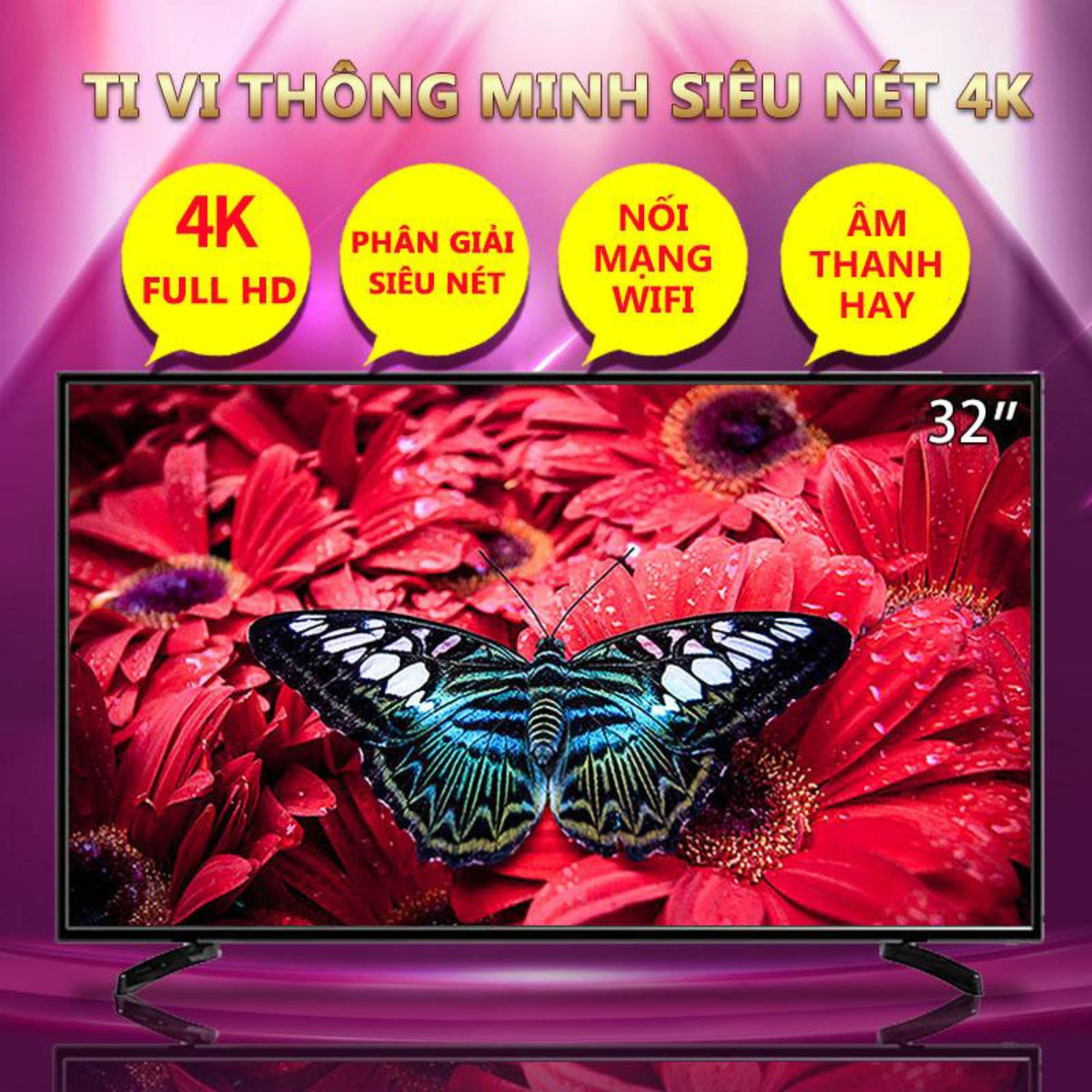 Bảng giá Ti vi màn hình tinh thể lỏng LCD 40 inch HD 4K và 32 inch Smart TV kết nối wifi tv màu Redepshop Điện máy Pico