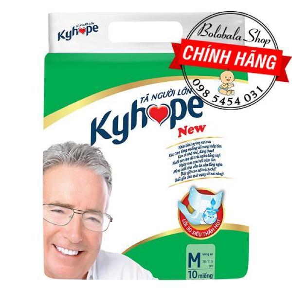 Tã dán người già Kyhope Safeguard M10, L/XL10 cao cấp