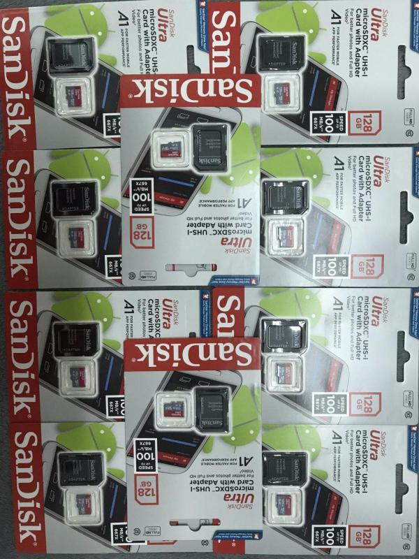 Thẻ nhớ sandisk MicroSDHC ultra 128Gb A1 100mb/s