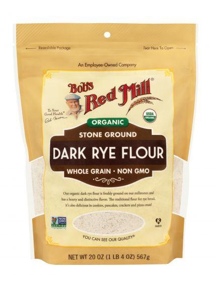 Bột Mì Đen Hữu Cơ ( Organic Dark Rye Flour ) 567g