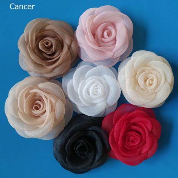 Hoa hồng cài áo Canto 8 màu lựa chọn, giá cực tốt, hàng tỉ mỉ