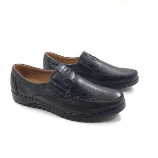 Giày lười nam da bò nhập khẩu nguyên tấm kiểu dáng thời thượng thumbnail
