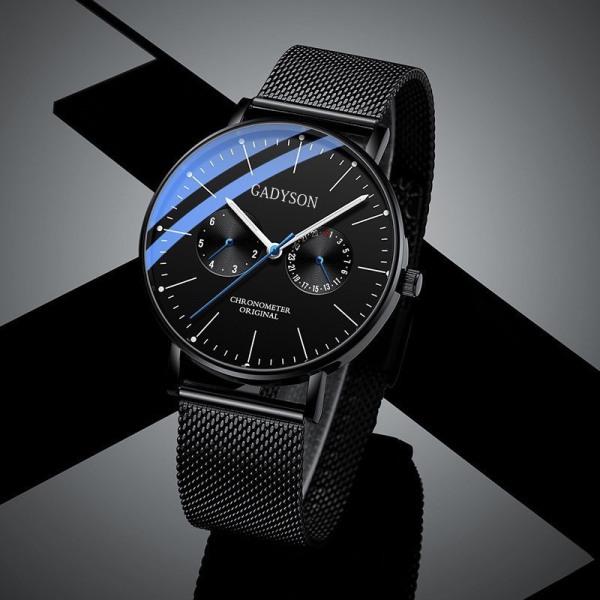 Nơi bán Đồng hồ nam đeo tay cao cấp GADYSON Mẫu Mới Mặt Mỏng Cao Cấp - Thiết Kế Cá Tính DMS09