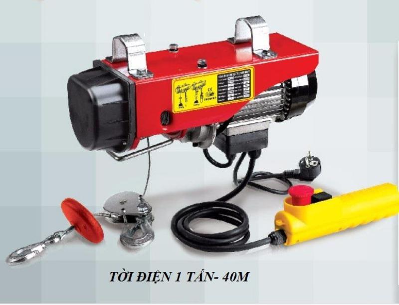 máy nâng hạ, máy tời linh hoạt cao, kết cấu gọn, kích thước nhỏ và công suất nâng và kéo lớn, giá sốc