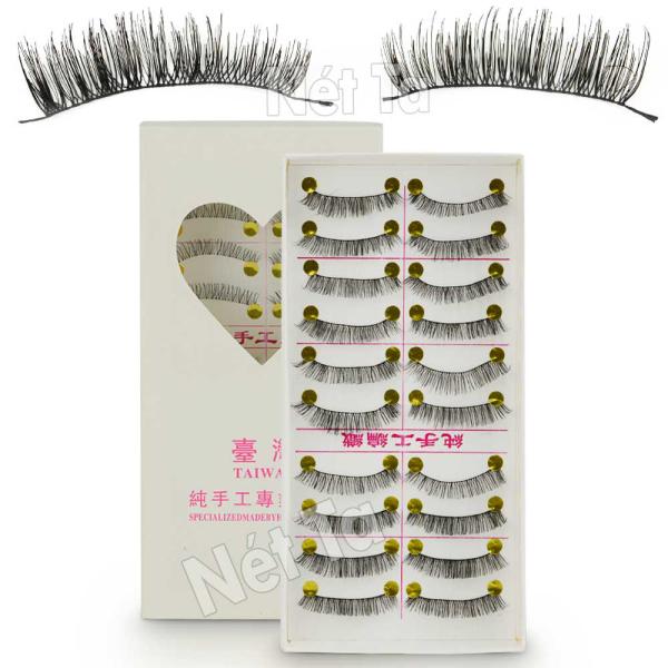 Bộ 10 cặp lông mi giả 3D handmade Nét Ta