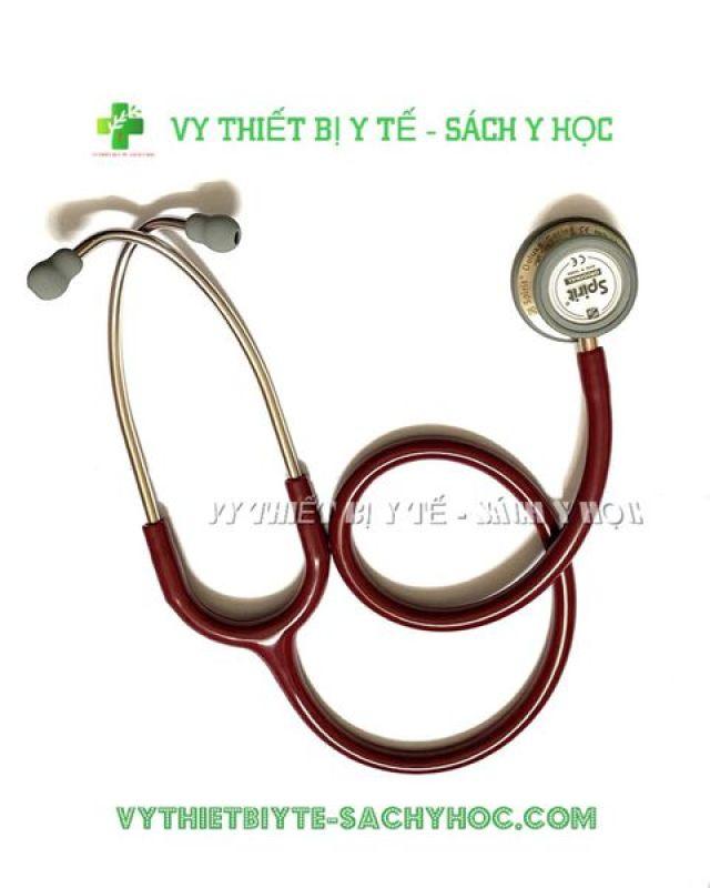 ỐNG NGHE 2 MẶT CK SS 601PF /Ống nghe y tế 2 mặt dòng Deluxe CK-SS601PF (màu đỏ))