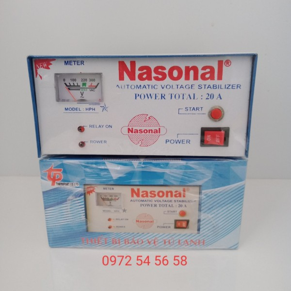 Bộ Delay bảo vệ thiết bị tủ lạnh NASONAL