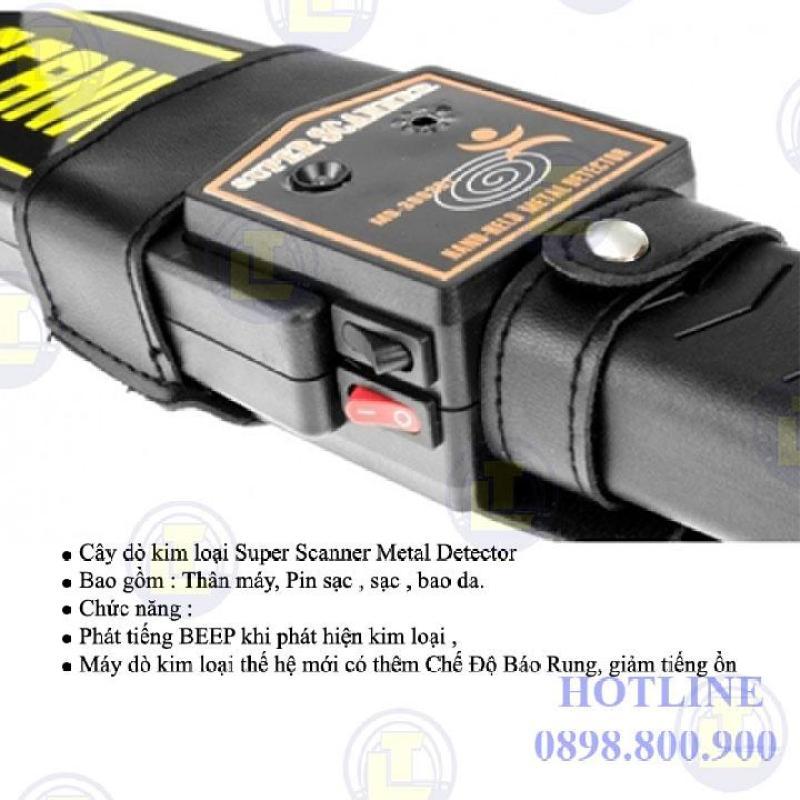 Cây rà kim loại cầm tay Super scanner MD3003B1