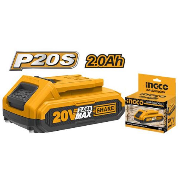 [HCM]Pin Lithium 20V 2.0A/h Ingco FBLI20011