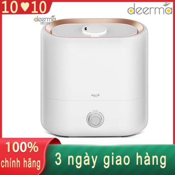 Deerma phòng ngủ phòng khách yên tĩnh thêm nước tạo ẩm gia đình máy tạo ẩm im lặng thích hợp cho mẹ và bé máy tạo ẩm kê