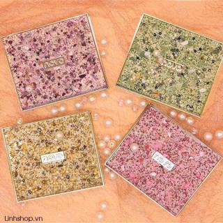 Bảng phấn mắt Novo 9 ô đính đá - Cavali - Chất phấn mịn, bám phấn tốt, lâu trôi thumbnail