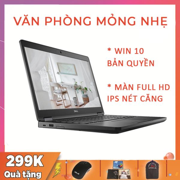 Dell Latitude 5490 Laptop Văn Phòng Giá Rẻ, i5-7300U, RAM 8G, SSD 256G, VGA Intel UHD 620, Màn 14 Full HD IPS