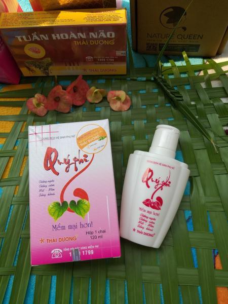 Dung dịch vệ sinh phụ nữ Qúy Phi đỏ giá rẻ