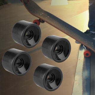 Ván trượt 4 cái bộ 70 51mm Bánh xe trượt ván PU chất lượng cao Bánh xe dài thumbnail