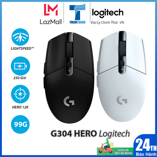 Bảng giá Chuột Chơi Game Không Dây Logitech G304 LIGHTSPEED - Chính hãng phân phối Phong Vũ