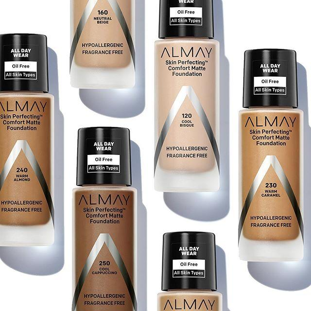 Kem nền almay skin perfecting comfort matte foundation 30ml [Authentic100%] tốt nhất