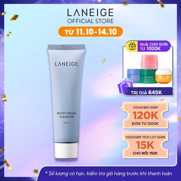 Sữa rửa mặt sạch sâu cho da dầu và da hỗn hợp Laneige Multi Deep Clean Cleanser Miniature 50Ml giá rẻ