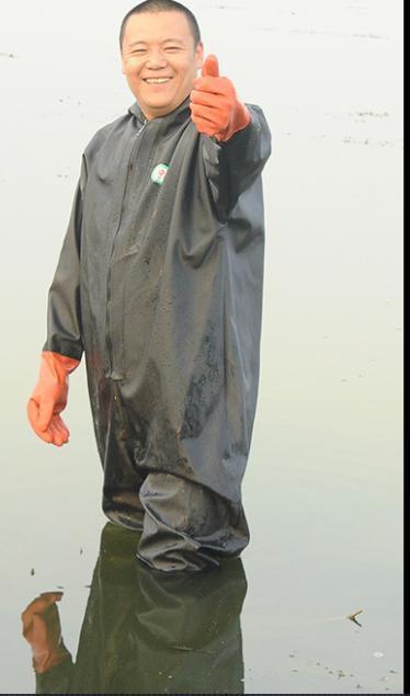 Quần áo cao su lội nước,bắt cá,câu cá
