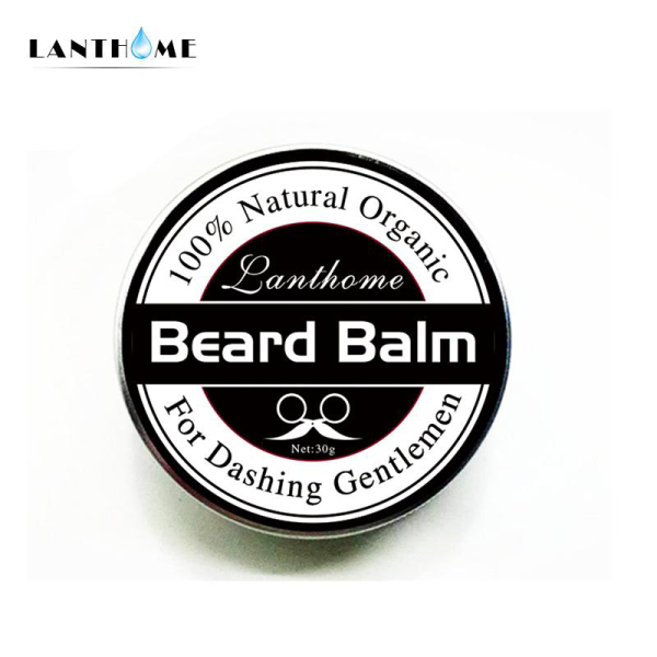 Top Quality Small Size Natural Beard Conditioner Beard Balm For Beard Growth And Organic Moustache Wax For Beard Smooth Styling giá rẻ