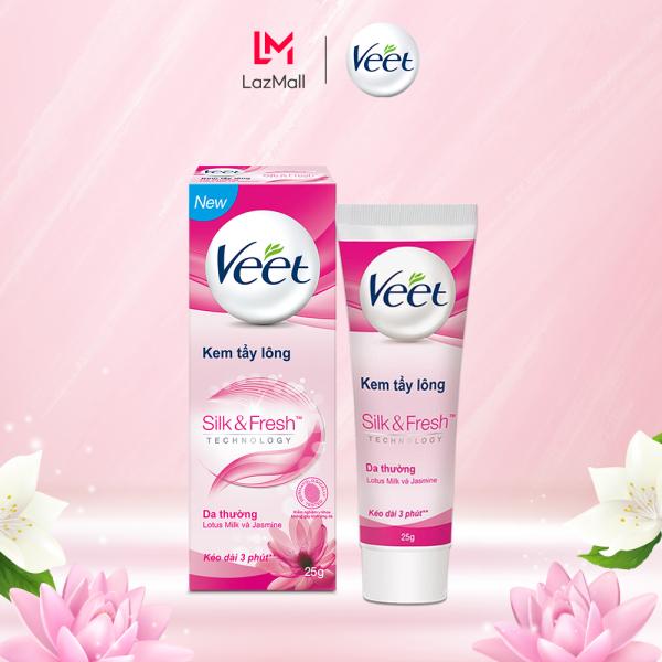 Kem Tẩy Lông Cho Da Thường Veet Silk Fresh 25G nhập khẩu