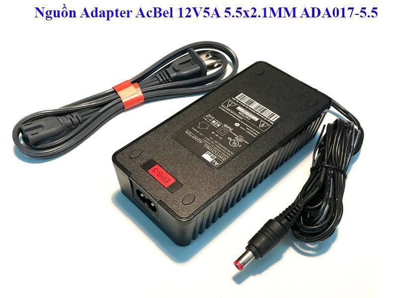 Nguồn 12V5A AcBel chuyên cho đầu ghi hình và camera loại tốt