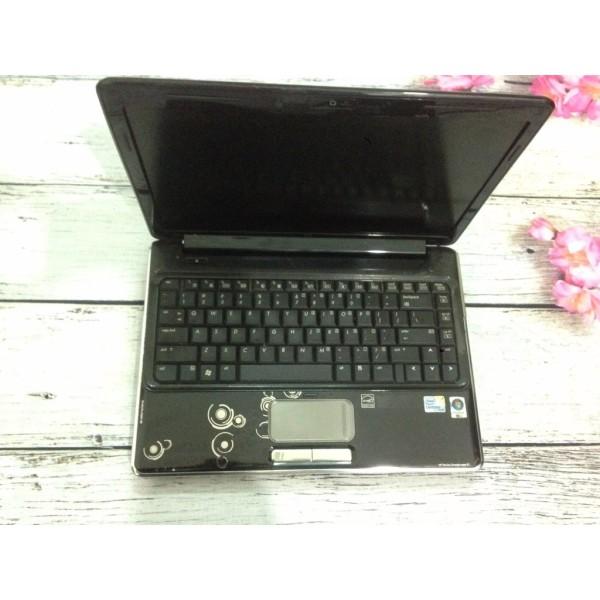 Laptop hp dv4 co 2 T6570, ram 2gb, ổ 120-160gb hình thức náy còn đẹp, cam kết còn nguyên bản.