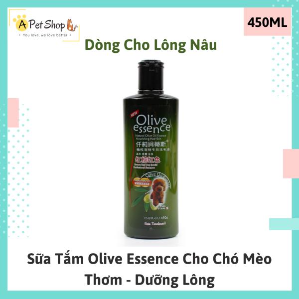 [Chó Poodle] Sữa tắm Olive Essence cho chó lông nâu thơm dưỡng lông - A Pet Shop