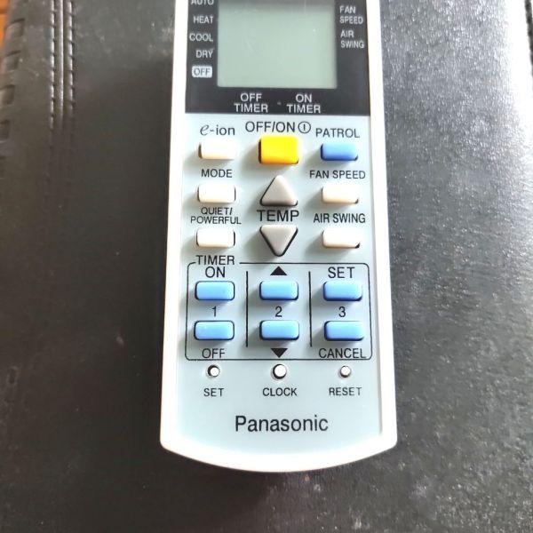 Bảng giá Remote điều khiển điều hoà không khí Panasonic loại nhỏ Điện máy Pico