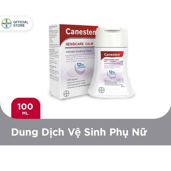 Dung dịch vệ sinh phụ nữ Canesten Sensicare Calm 100ml nhập khẩu