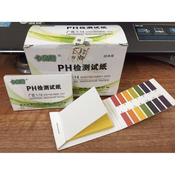Giấy quỳ tím đo độ pH cao cấp