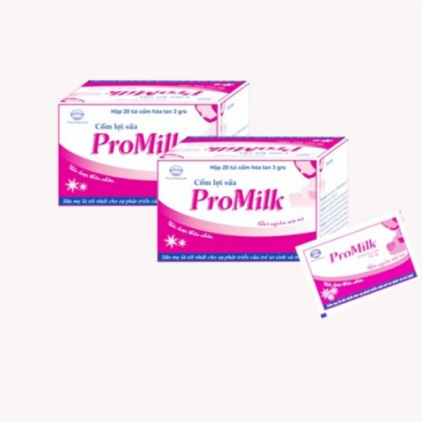 (CHÍNH HÃNG) Cốm Lợi Sữa Promilk HỘP 20 GÓI