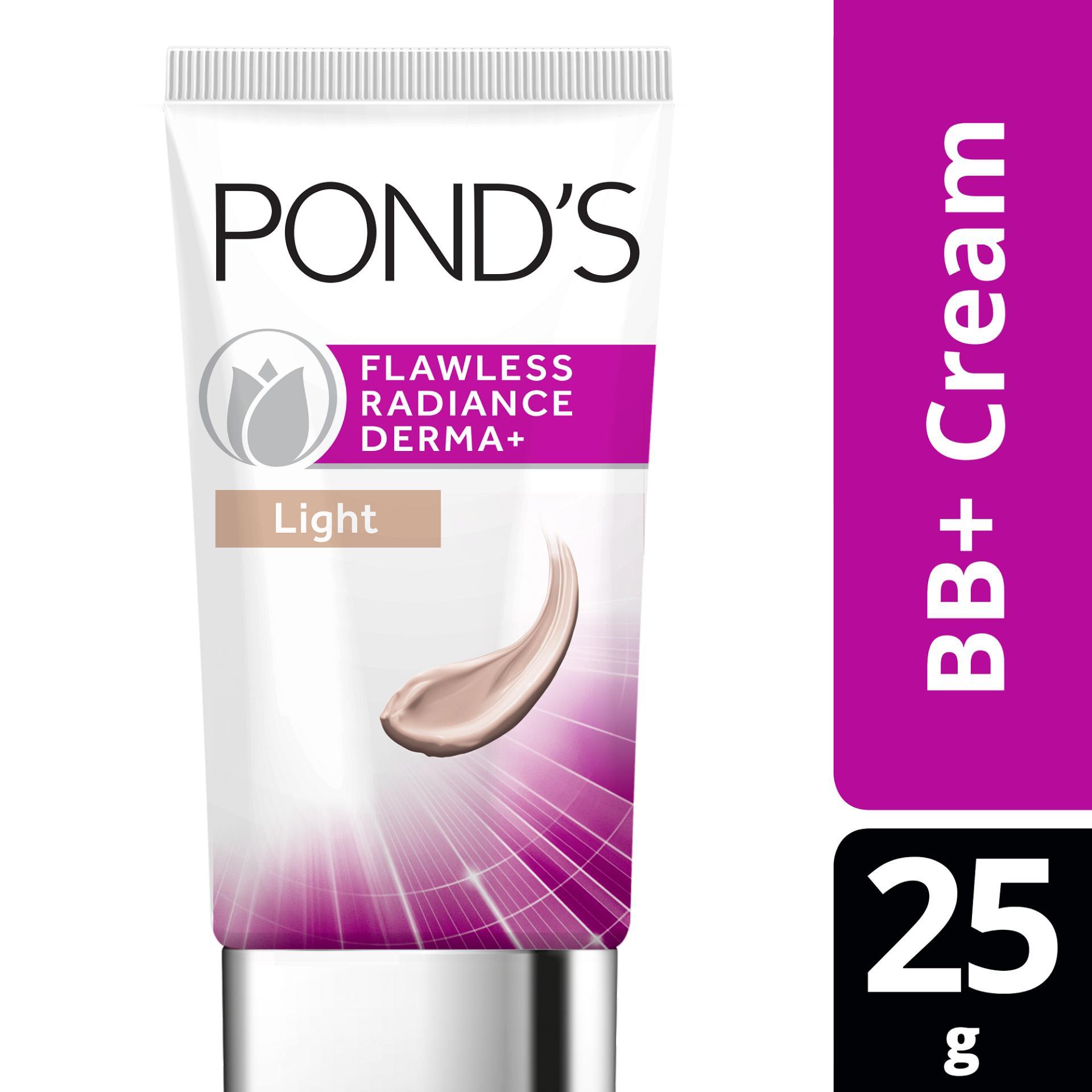 Kem Dưỡng Trắng Tạo Nền BB+ Ponds Flawless Radiance Derma SPF30 PA++, 25g