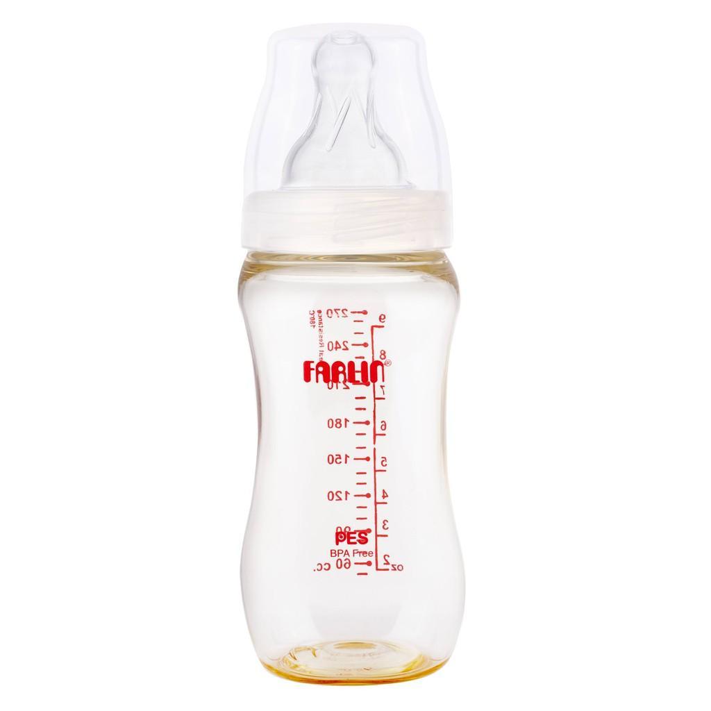 Bình Sữa Nhựa Cổ Rộng Farlin PES.888 ( 240ml )