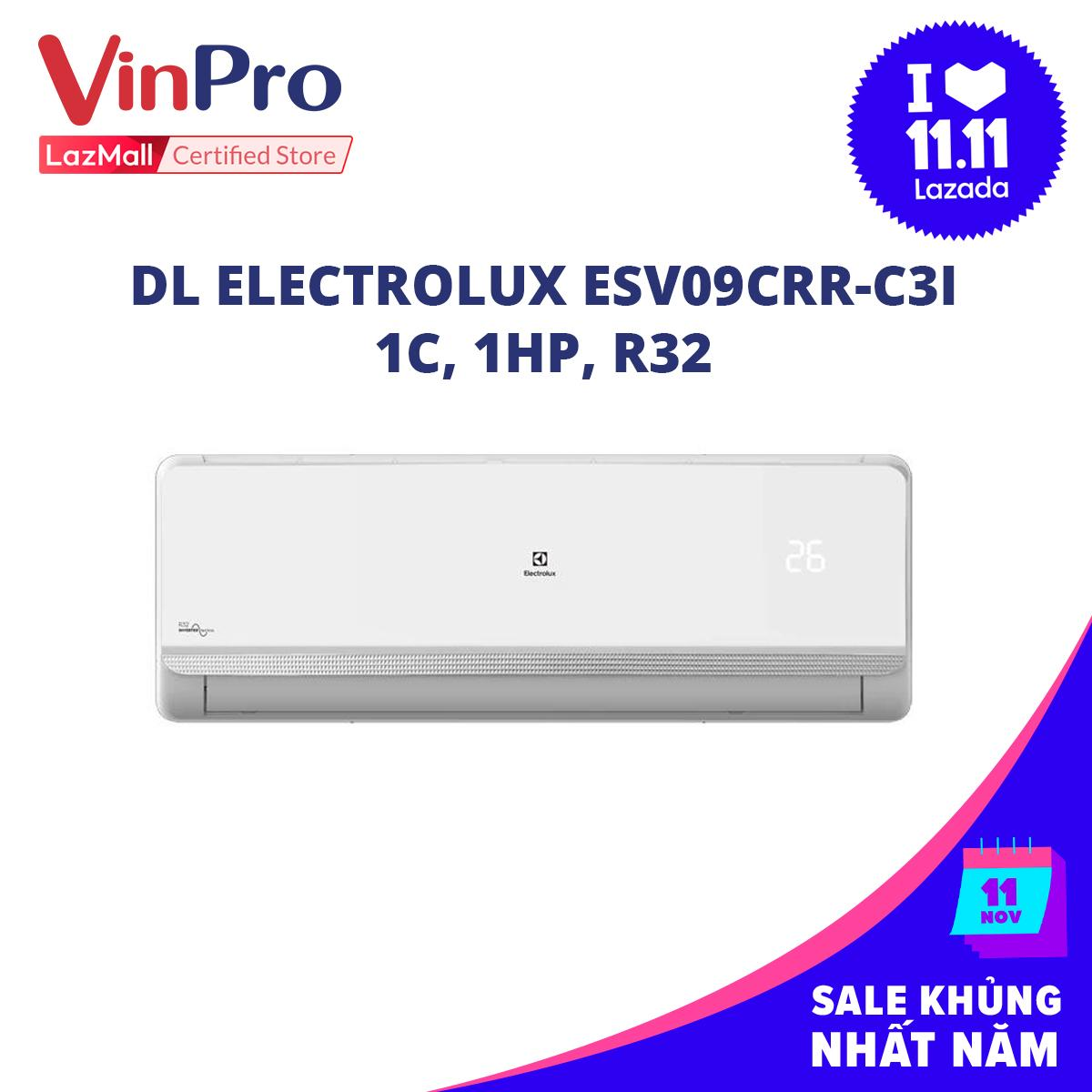 Bảng giá Máy lạnh Electrolux ESV09CRR-C3I, 1C, 1HP, R32
